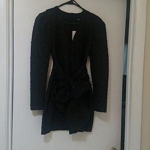 ZARA Mini Dress With Bow